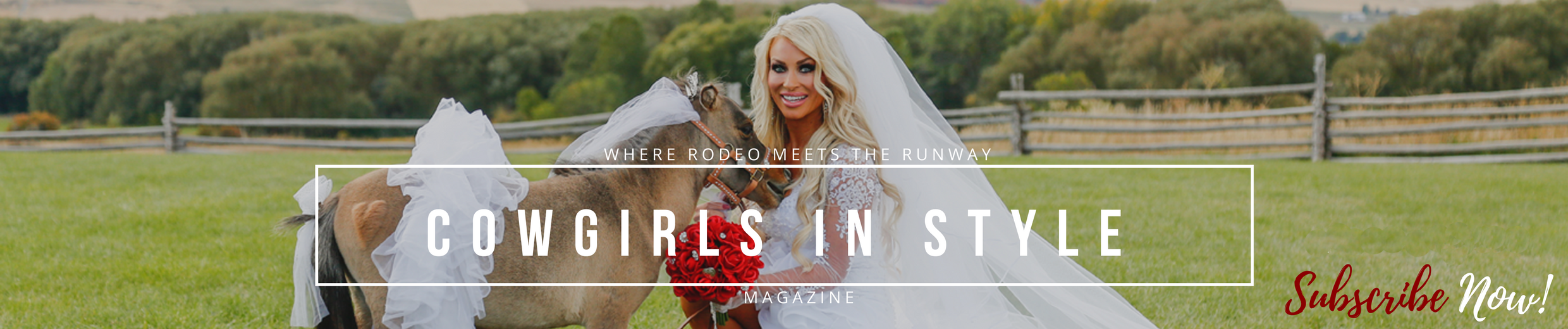 Wedding Designs C.R.BOGGS in this issue! - Cowgirls In Style Magazine